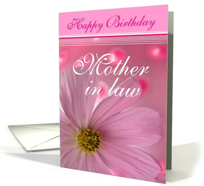 Beautiful Birthday Cards to Send to Your MotherinLaw on Her – Birthday Greeting Card for Mother
