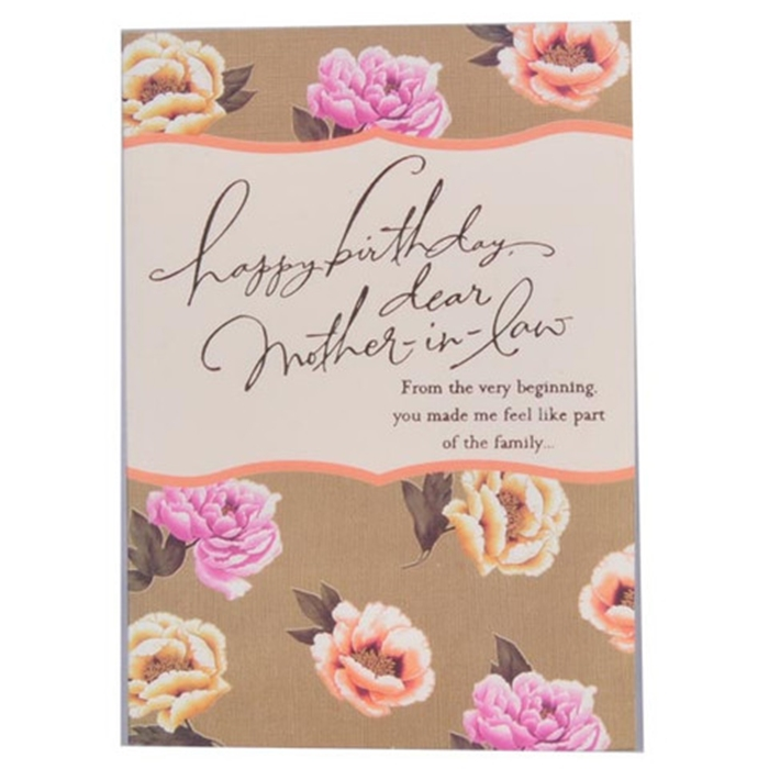 Beautiful Birthday Cards To Send Your Mother In Law On Her 6