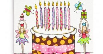The Collection of Colorful and Pretty Birthday Cards to Send to Your Treasured Daughter 7