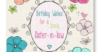The Best Collection of Wonderful Birthday Cards for Sister-in-Law 4