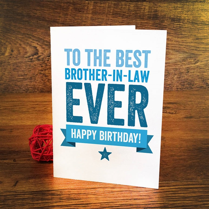 Wonderful Birthday Cards That Can Make Your Brother-in-law Surprised 1