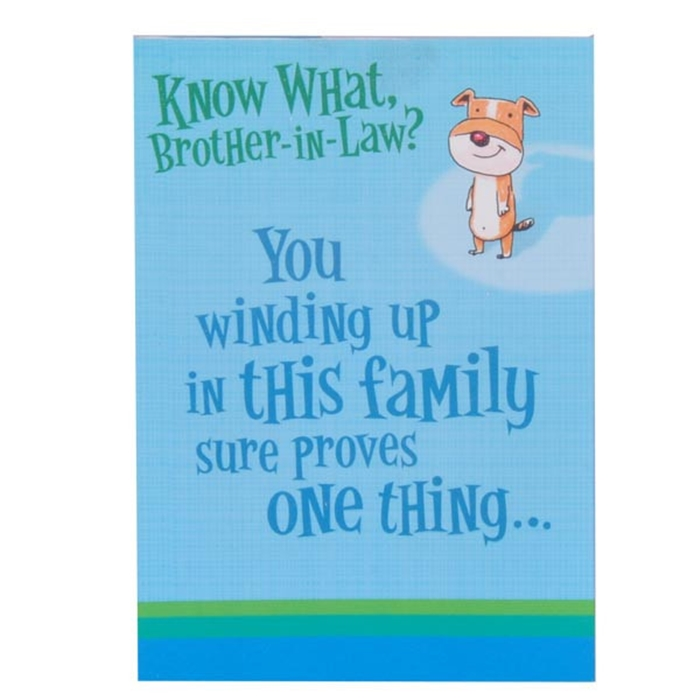 Wonderful Birthday Cards That Can Make Your Brother In Law Surprised