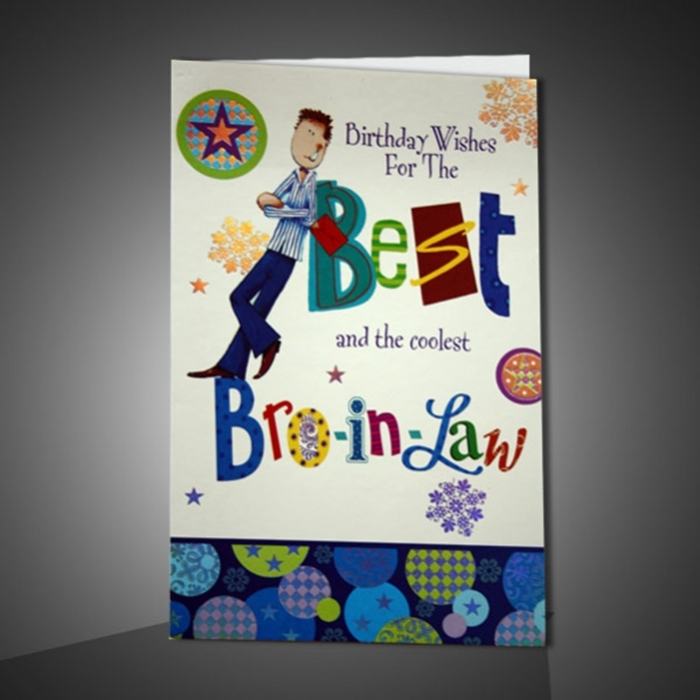 Wonderful Birthday Cards That Can Make Your Brother-in-law Surprised 3