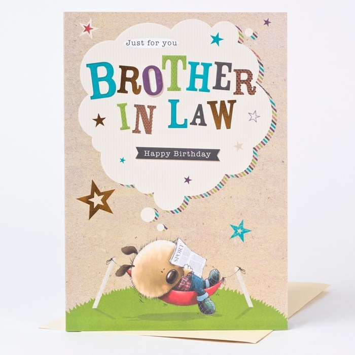 Wonderful Birthday Cards That Can Make Your Brother-in-law