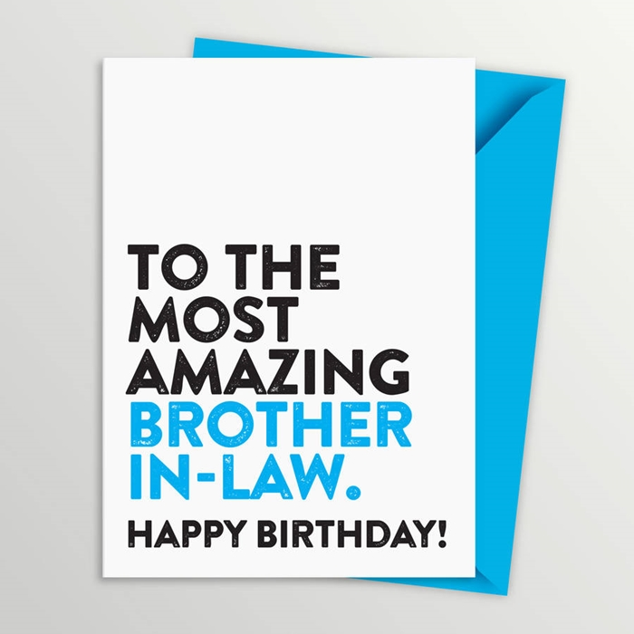 Wonderful Birthday Cards That Can Make Your Brother-in-law Surprised 9