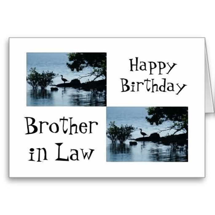 Wonderful Birthday Cards to Express Your Care to Your Brother-in-Law 10