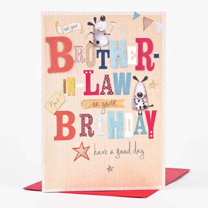 Wonderful birthday cards to express your care to your brother in law wonderful birthday cards to express your care to your brother in law 2 bookmarktalkfo Image collections