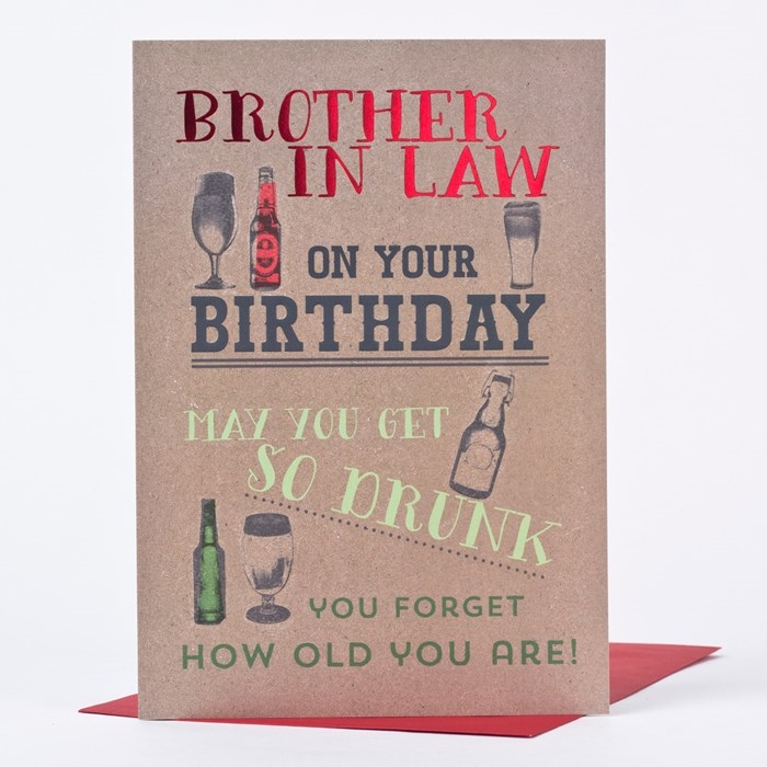 Wonderful Birthday Cards To Express Your Care Brother In Law 3