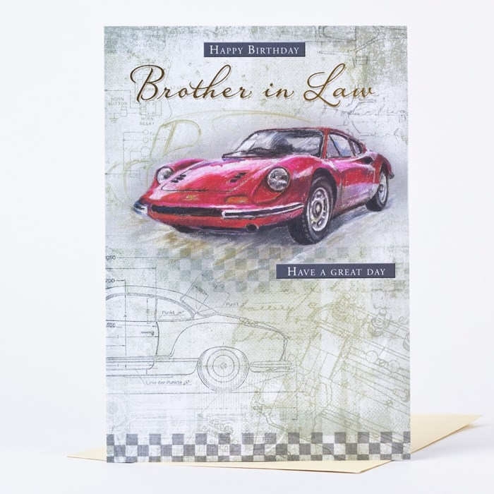 Wonderful Birthday Cards to Express Your Care to Your Brother-in-Law 7