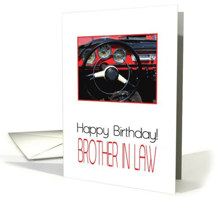 Wonderful Birthday Cards to Express Your Care to Your Brother-in-Law 8