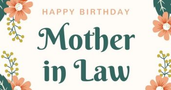 The Great Collection of Touching Messages for Your Mother in Law's Birthday 1