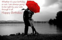 The Top of Romantic Sayings to Your Boyfriend's Birthda 3y