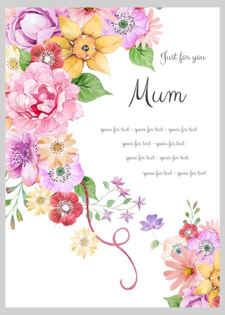 The Wonderful Collections of Birthday Cards for Your Mom 5